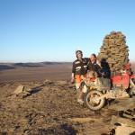 marruecos moto trail