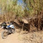Terreno muy seco cerca del mediterráneo