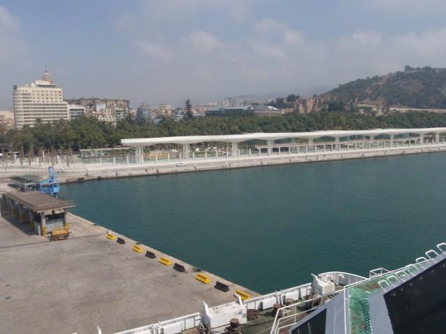 Málaga desde el barco