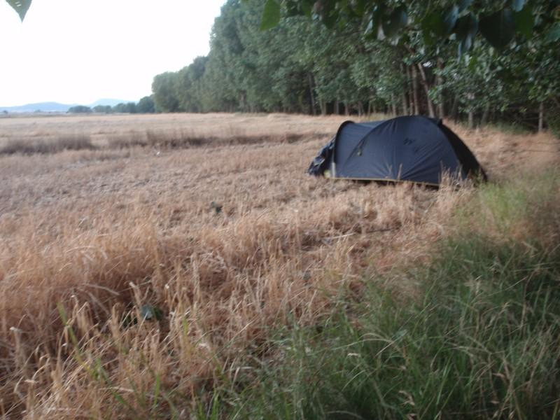 Campamento improvisado
