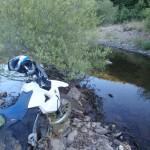 Negras aguas y trail al agua