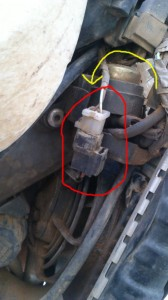 Solución Ficha eléctrica G650X