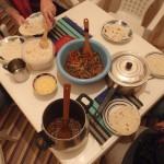 Cena americana en Figuig