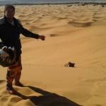 dunas merzouga marruecos moto trail