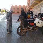 Bouarfa marruecos moto trail
