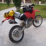 honda xr marruecos moto trail