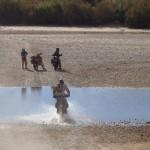 río marruecos moto trail