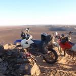 hamada marruecos moto trail