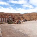 todra marruecos moto trail