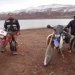 lago midelt marruecos moto trail