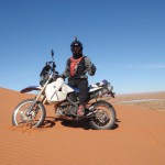 Chott Tigriss Marruecos Moto Trail
