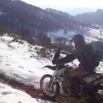 nieve bmw g650x navarra